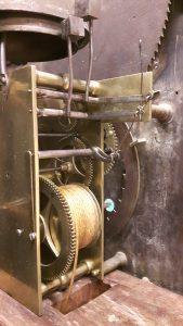 Amsterdams staand horloge restauratie 1