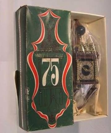 Albert Heijn AH 75 jaar bestaan klok cadeau kado