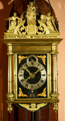 Kornelis Volger dubbele zaag klok 1678