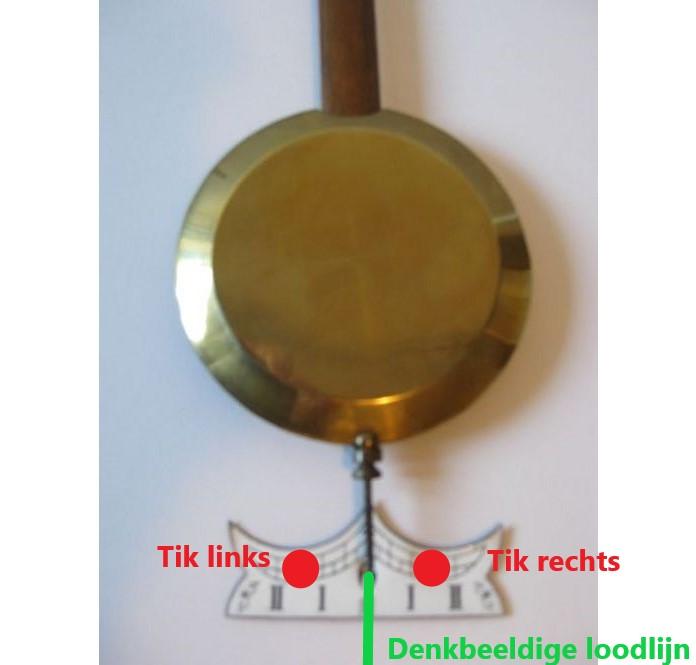 Afstellen slingeruurwerk - klokkenmaker Lars Dekker